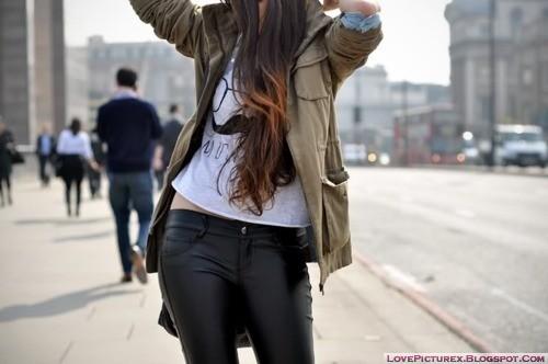 cute, hot, girl, fashion, skinny