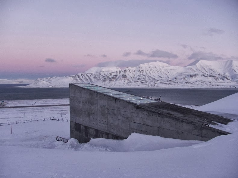 The location takes into account all known scenarios for rising sea level caused by possible global climate changes. - I Had No Idea This Vault Hidden Deep In The Mountains Even Existed. Let Alone What's Inside.