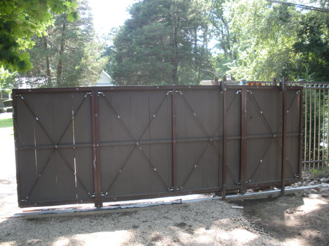 Rolling Gate Kits A Tudor Style Rolling Gate Its