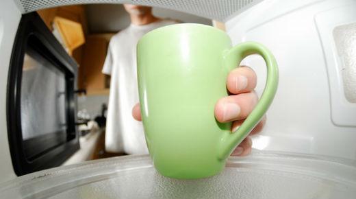 Los peligros del horno microondas