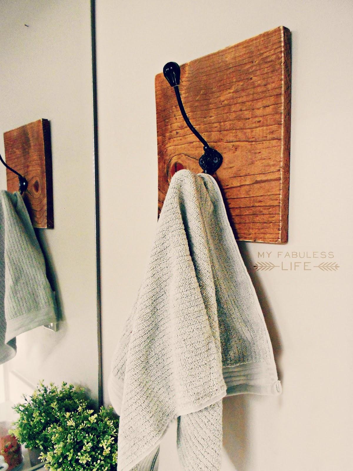 Крючки для полотенцев своими руками 788