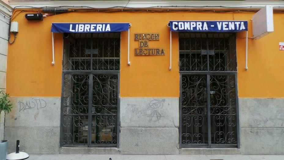 Resultado de imagen de rincon de lectura libreria madrid