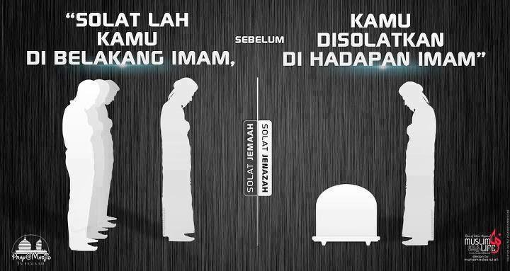 sholatlah sebelu disholatkan,wallpaper Islami