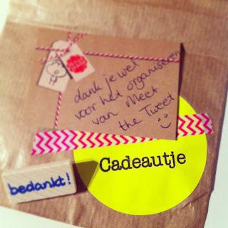 Cadeautje voor Meet the Tweet van Moosmade