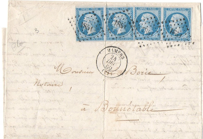 SECOND EMPIRE 20C BLEU