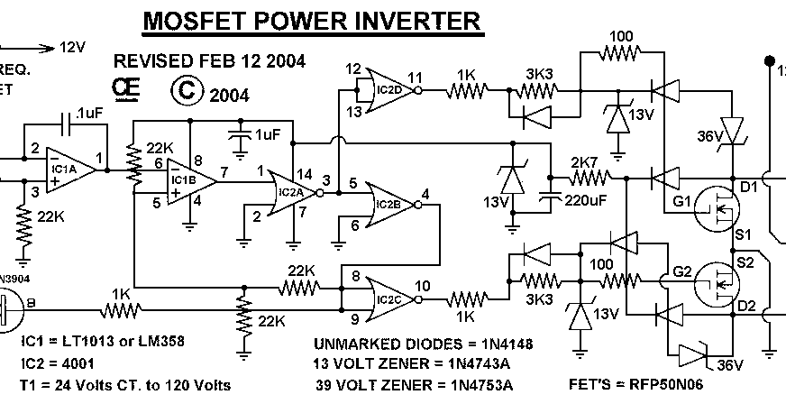 1000 watt power inverter circuit diagram CircuitsTune