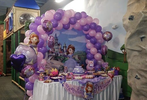Fiestas Infantiles Princesa Sofia, parte 1