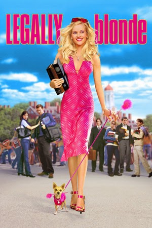 Legally Blonde 2001 poster