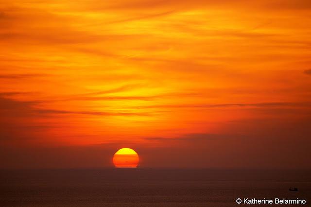 Sunset from Laem Phromthep Phuket Thailand