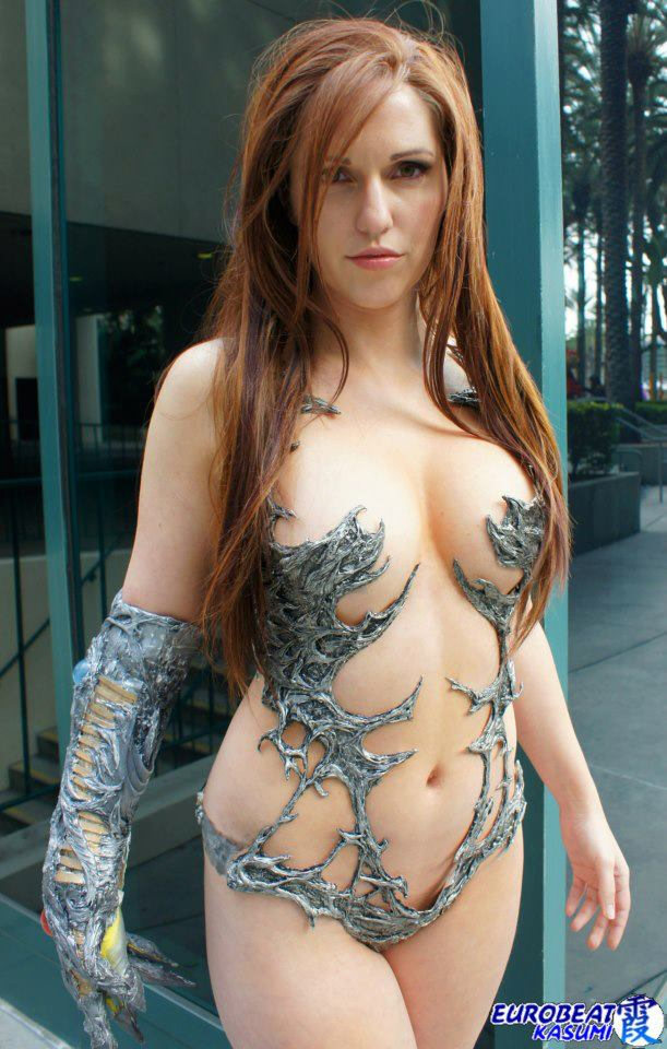 Here Is Jacqueline Goehner As Witchblade Through The Lens Of Bgz