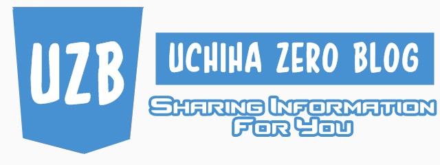 Uchiha Zero Blog [UZB]