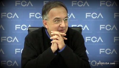 Sergio Marchionne at 2015 Detroit Auto Show