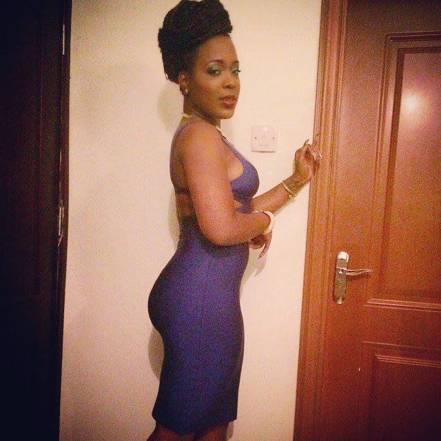 Moet Abebe Looks Gorgeous in her Outfit