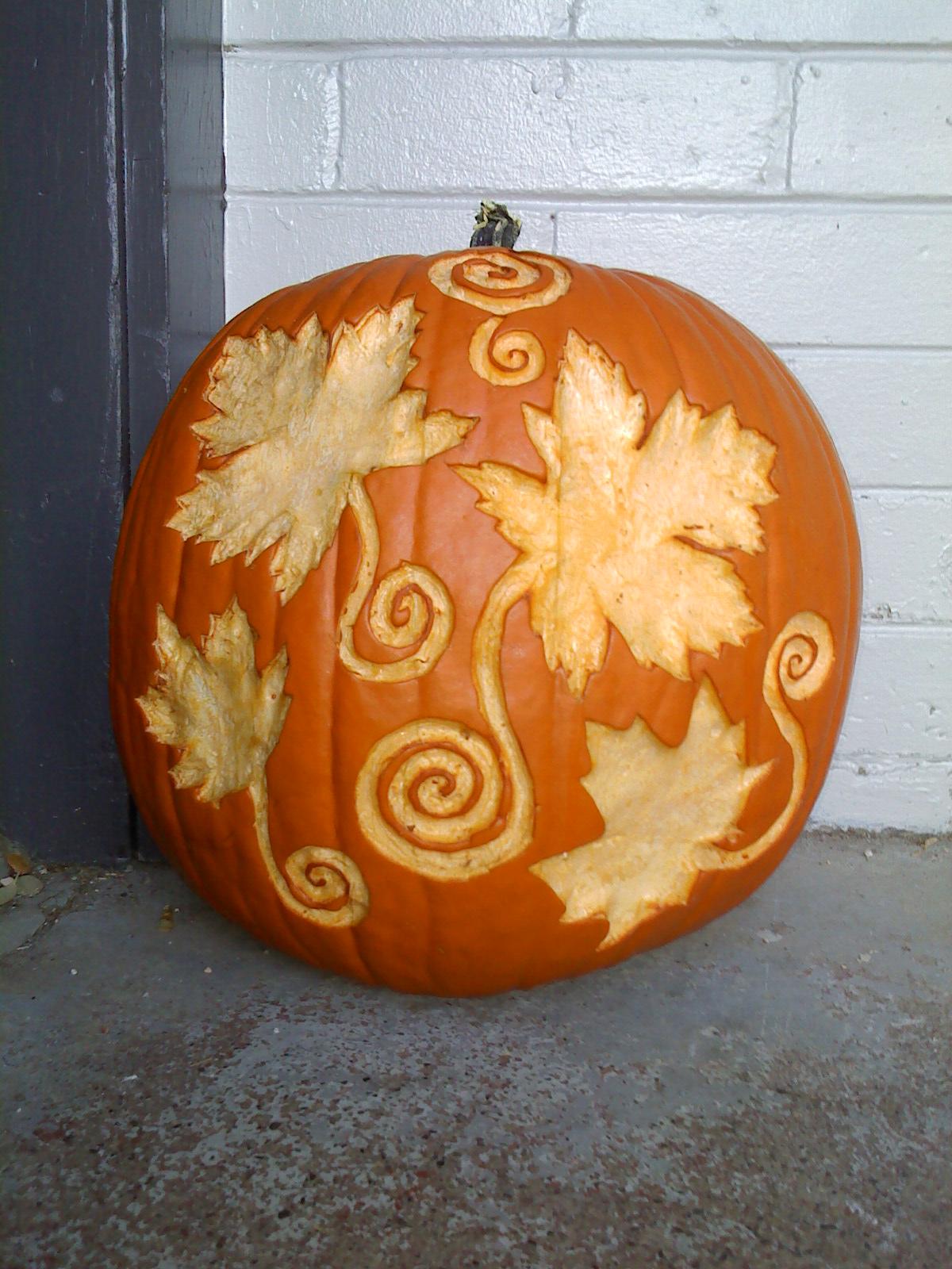 The Velveteen Owl Pumpkin Carving