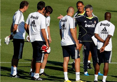 Real Madrid pre-season 2011-2012
