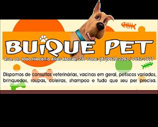 BUÍQUE PET, O LUGAR CERTO