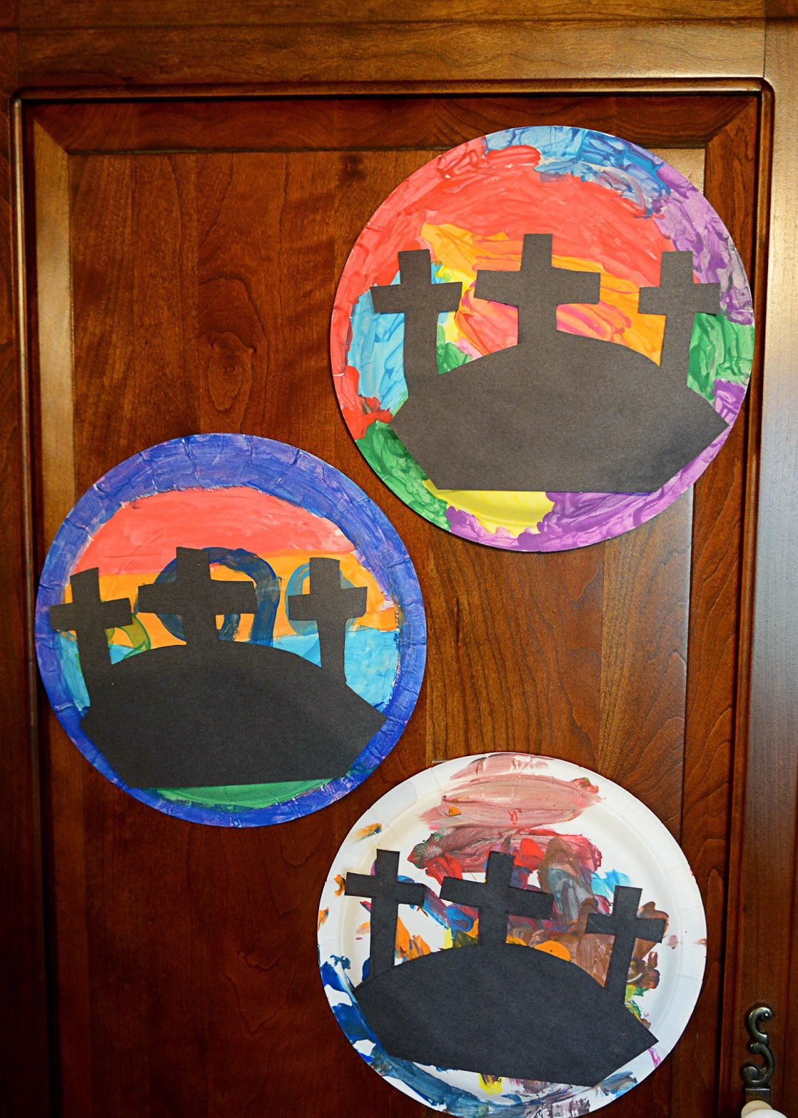 This farm family 39 s life craft time easter cross paper for Cardboard crosses for crafts