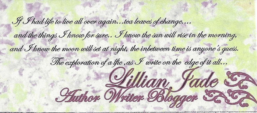 Author Lillian Jade