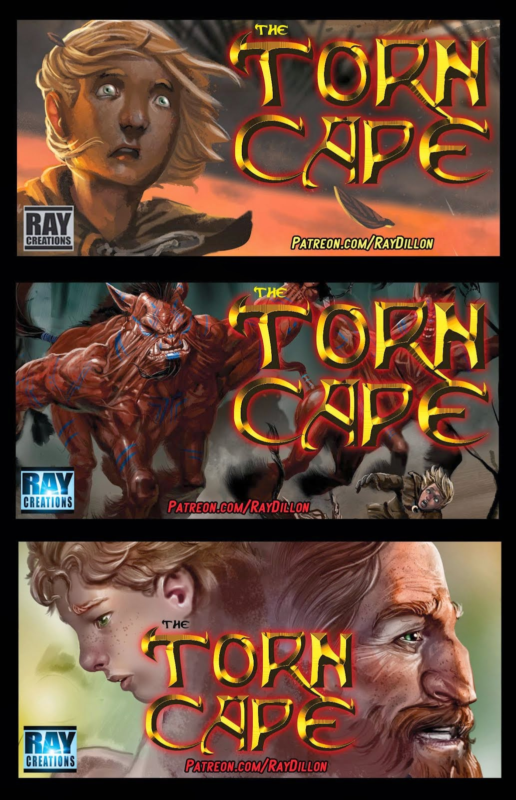 THE TORN CAPE - CREATOR-OWNED PROPERTY!