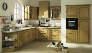 Meuble de cuisine en bois conforama