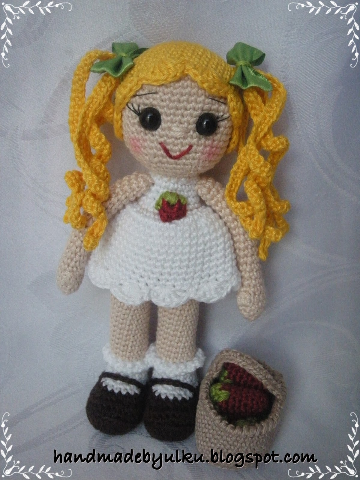 Handmade by ?lk?: Amigurumi My Little Pony and Strawberry ...