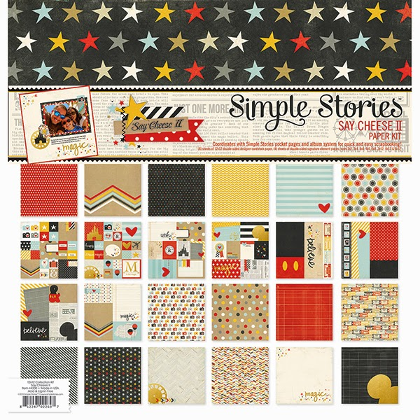 """Simple Stories Collection Kit 12/""""X12/""""-Lil/' Dude"""