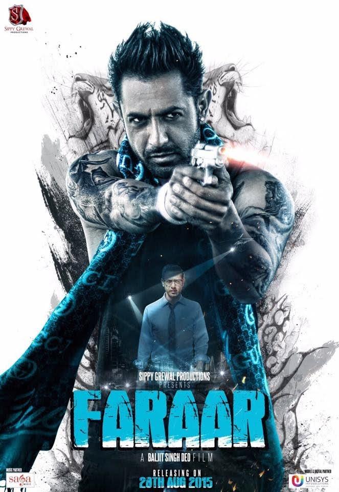 Punjabi Film Faraar Gippy Grewal, Kainaat Aroa