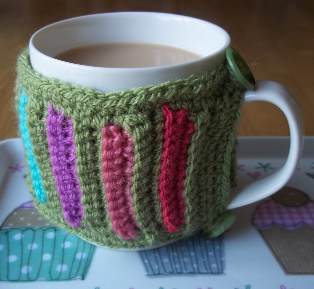 FREE CROCHET COFFEE CUP HOLDER PATTERN - Crochet and Knitting Patterns