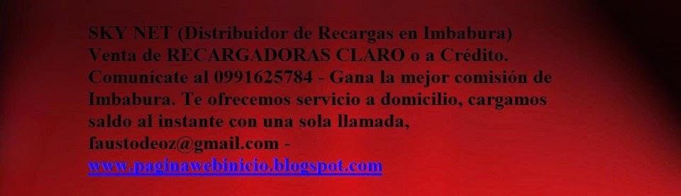 SKY NET - DISTRIBUIDOR de RECARGAS en Imbabura