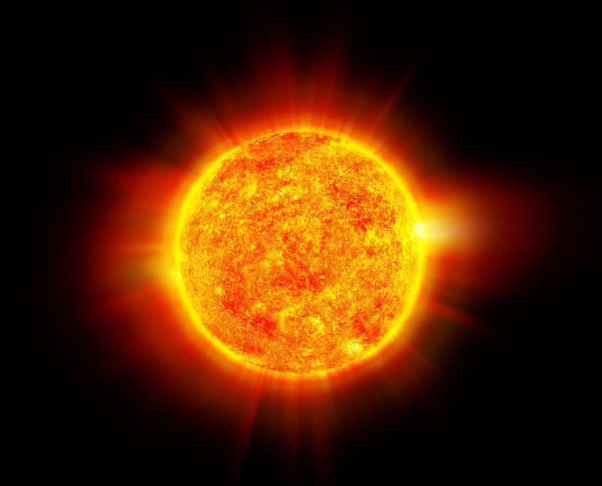 the sun and the planets of our solar system - photo #1
