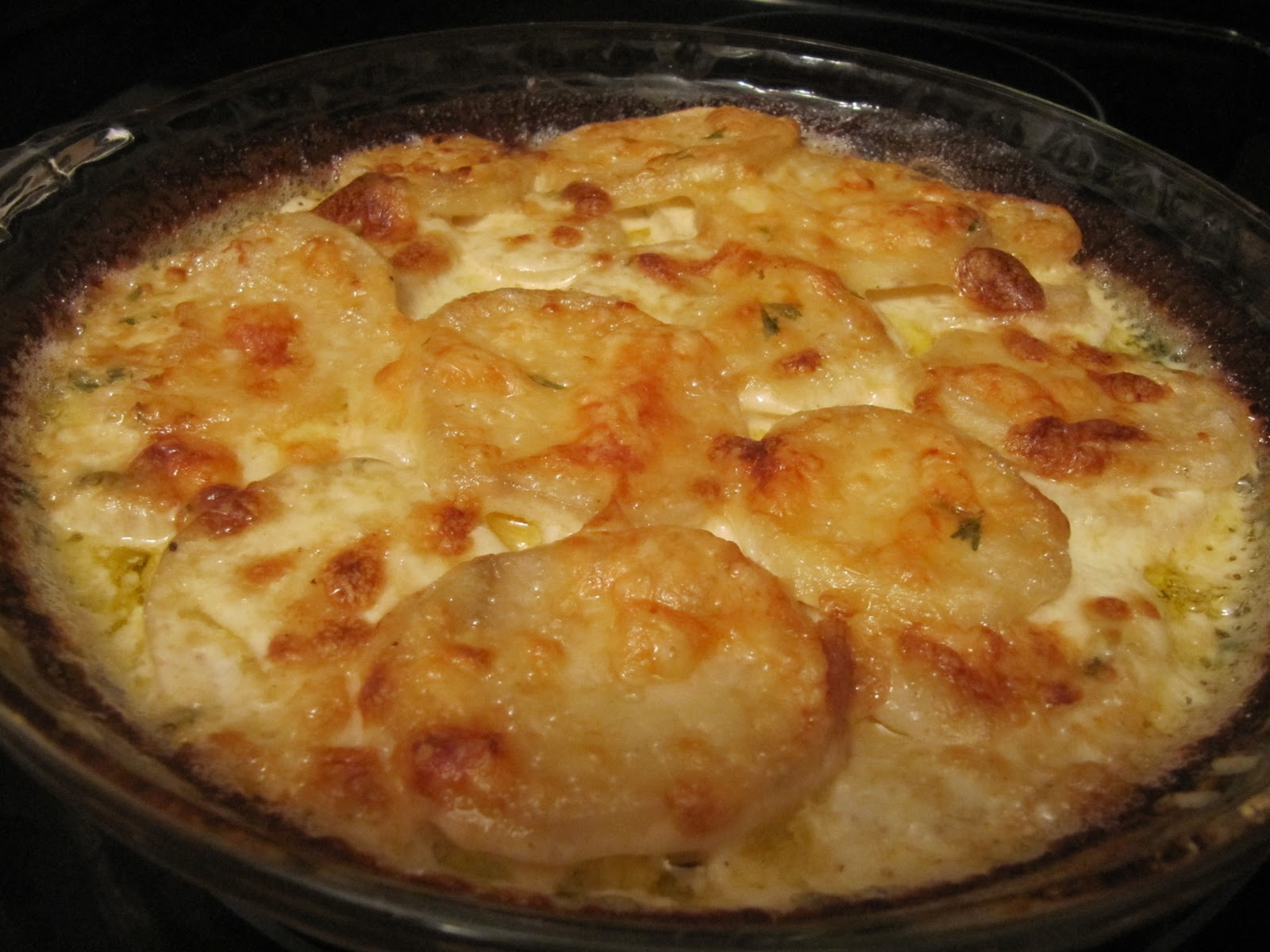 Cookin' in Anne's Kitchen: Anne's Potatoes au Gratin