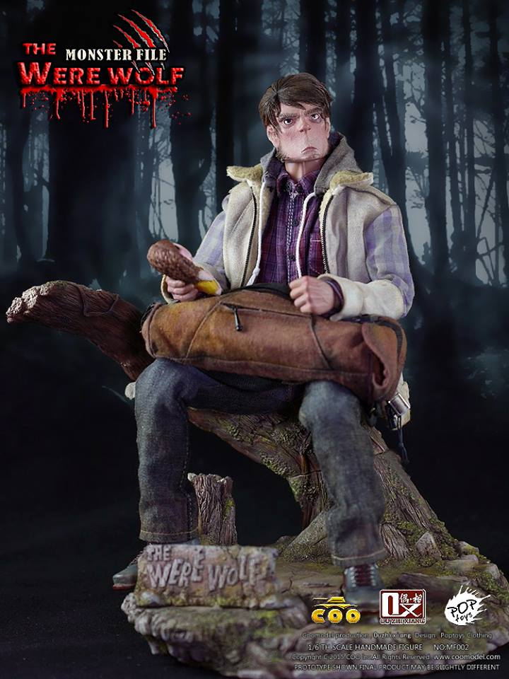 COOMODEL X OUZHIXIANG - Monster File Series - The Were Wolf E16