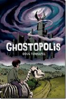 book cover of Ghostopolis by Doug TenNapel published by Graphix