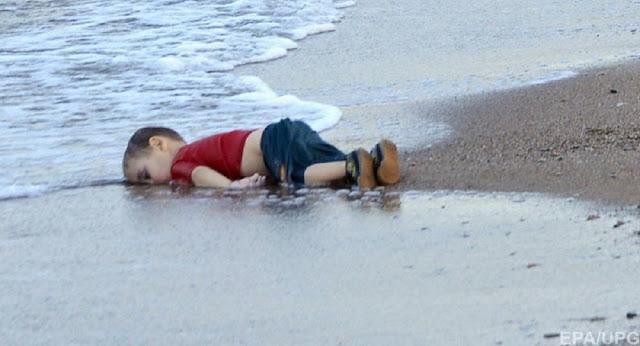 утонувший сирийский мальчик