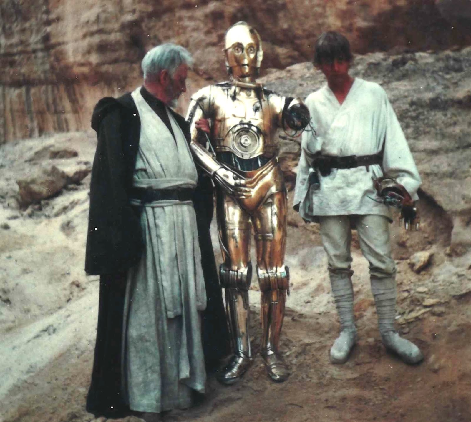 BEHIND THE SCENES OF 'STAR WARS' (1977)