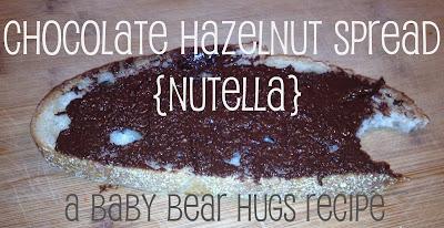 homemade nutella recipe