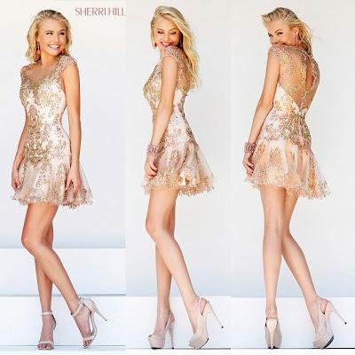 Лъскава бална рокля Sherri Hill 2014