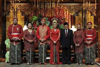 Pernikahan Edhie Baskoro Yudhoyono dan Siti Rubi Aliya Rajasa