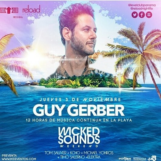 Guy Berger en Panama