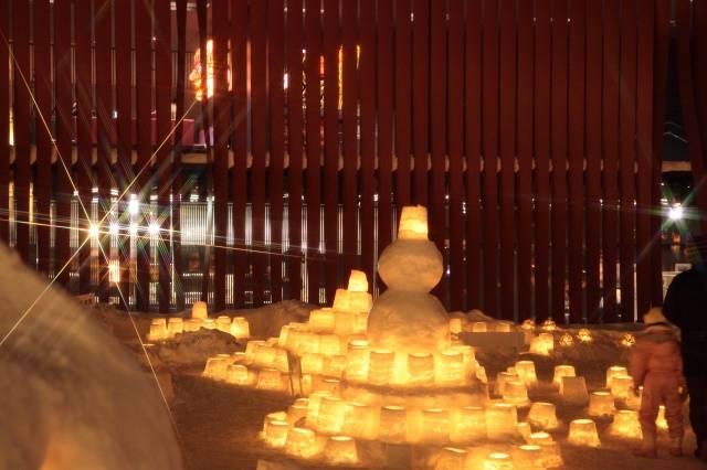Aomori Snow Light Festival あおもり雪灯りまつり 青森市