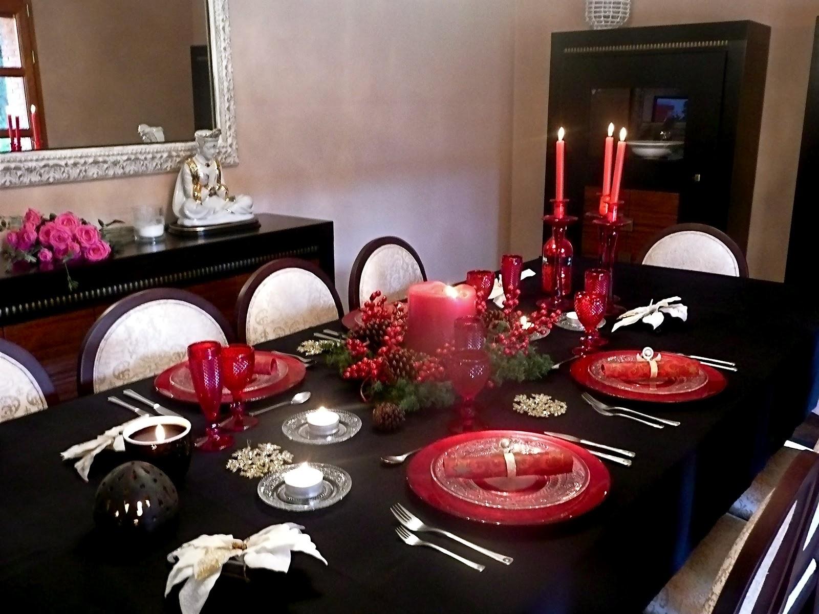 We love parties bcn creaci n eventos particulares - Mesa de navidad elegante ...