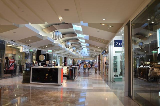 Khu phố mua sắm tại chung cư The Artemis