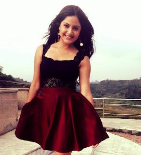Nepali Actress Barsha Siwakoti On Skirt