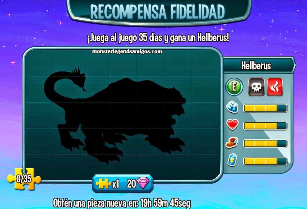 imagen oculta del cuarto premio fidelidad de monster legends