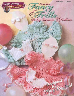 Crochet Fancy Frills. Baby Dresses