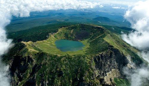 JEJU-DO HANLLASAN  濟州島 漢拏山 (1,950 m )  NEW 7 WONDERS OF NATURE  世界 7大自然景觀