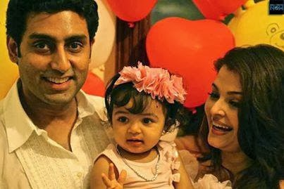 Abhishek and family