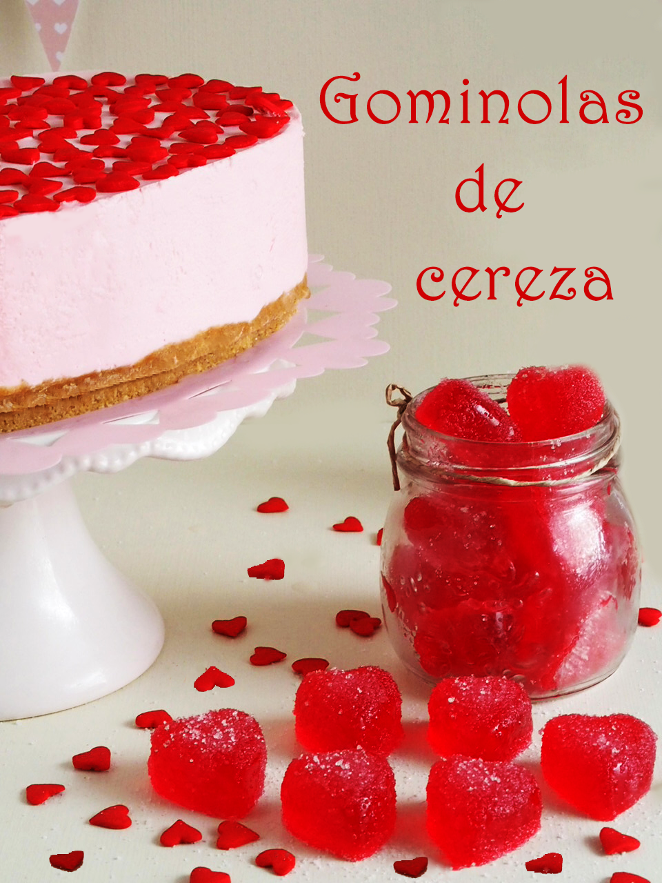 Gominolas de cereza