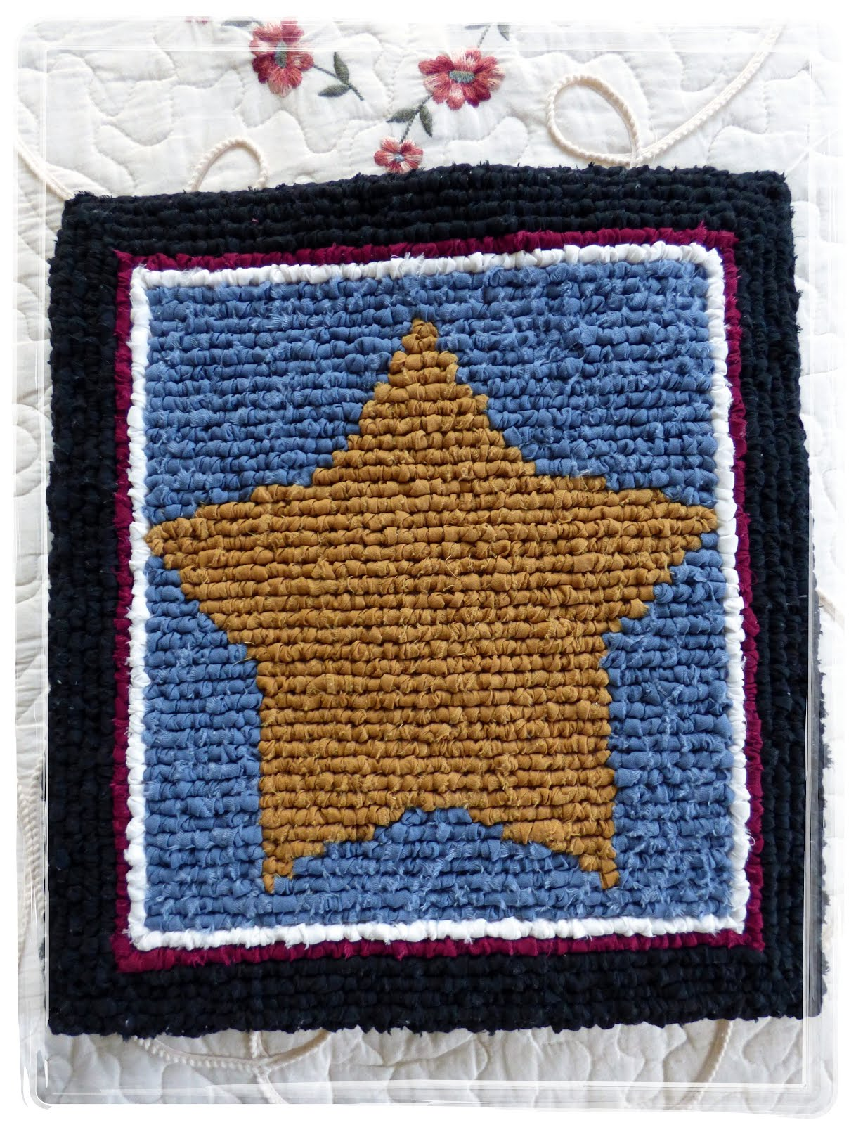 Star Locker Hooking Mat #2