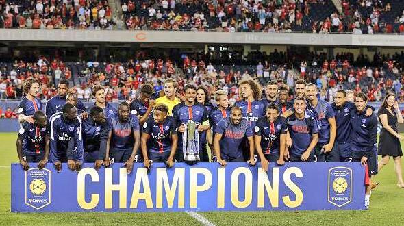 Cuplikan Gol  Pemenang ICC 2015 Paris Saint Germain